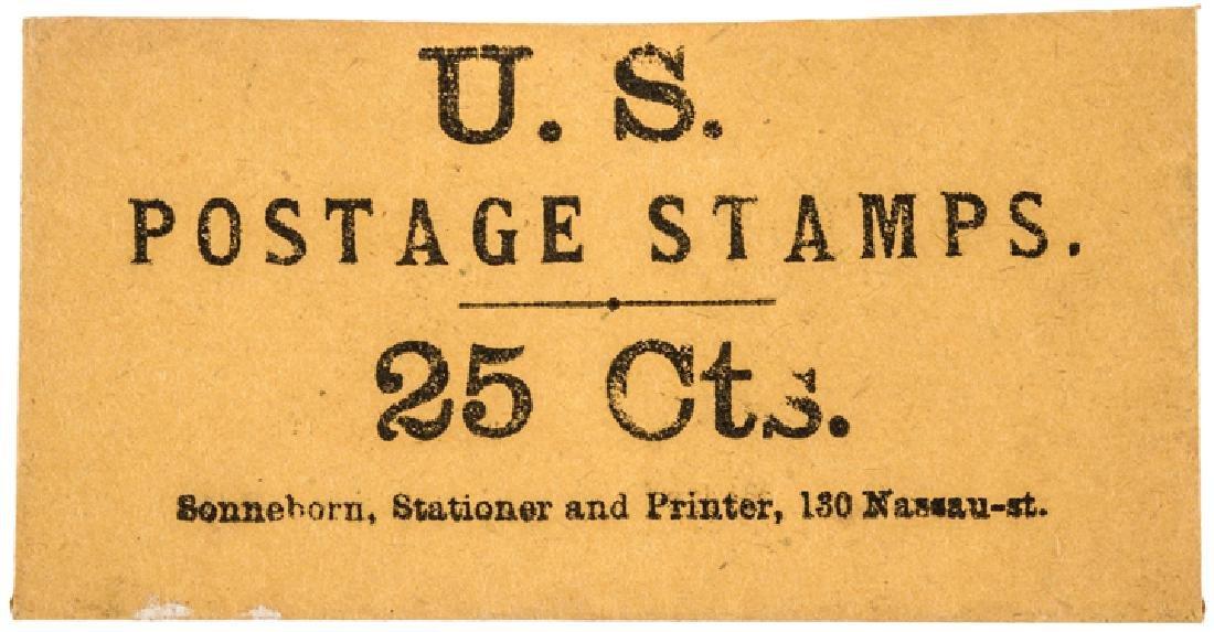 25¢ U.S. POSTAGE STAMPS Envelope A UNIQUE Type!