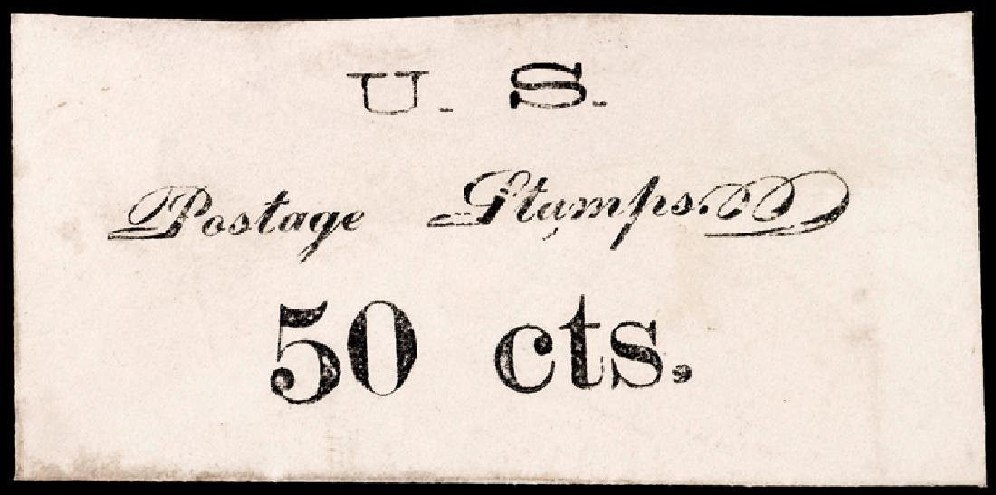 Likely UNIQUE 50 Cents US Postage Stamp Envelope