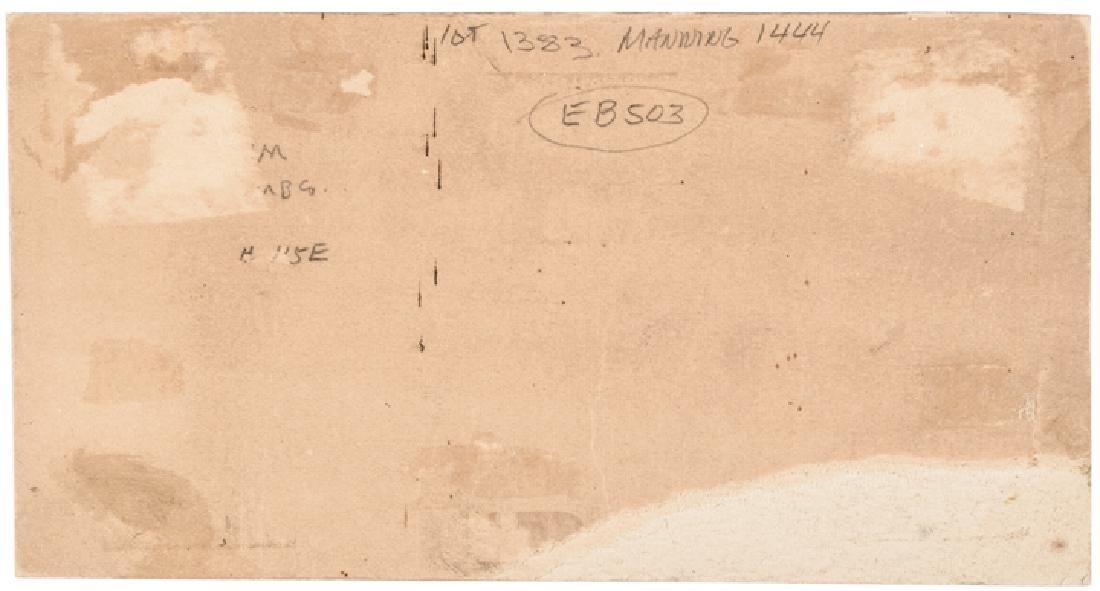 1869 Fisk Mills 3¢ ESSAY Postal Currency Envelope - 2