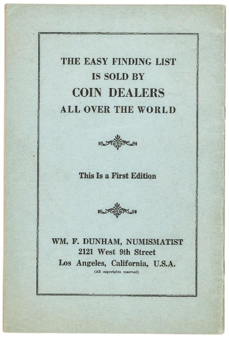 Dunham's Catalog US Coins, Encased Postage Stamps - 4