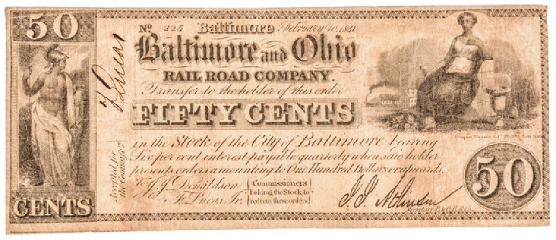 Collection: Baltimore, Maryland Obsolete Currency