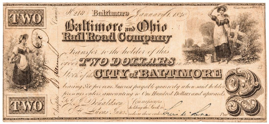 Collection: Baltimore, Maryland Obsolete Currency - 3