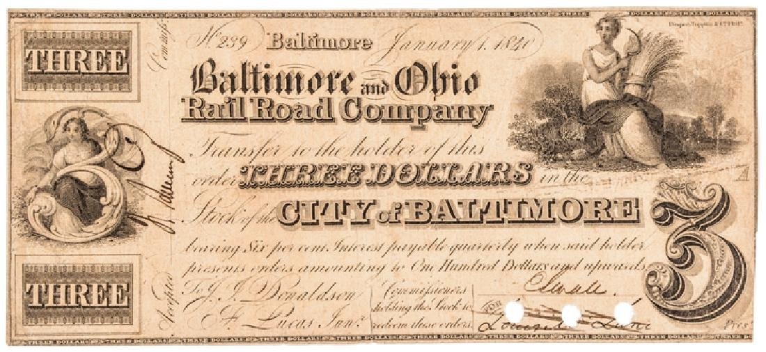 Collection: Baltimore, Maryland Obsolete Currency - 4