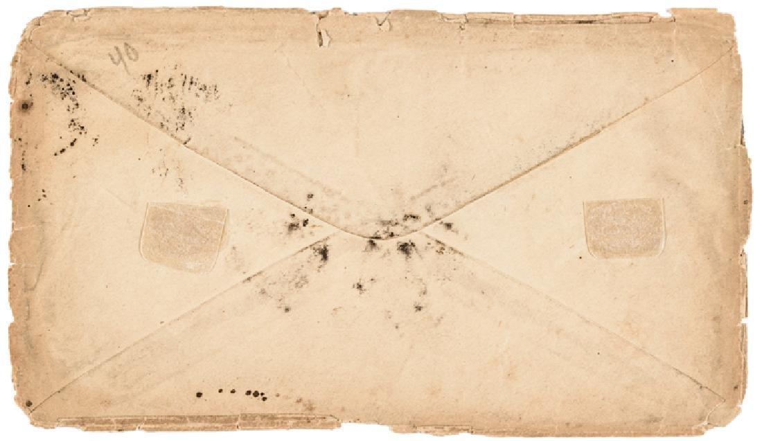 1864 Lincoln +Johnson Presidential Campaign Cover - 2