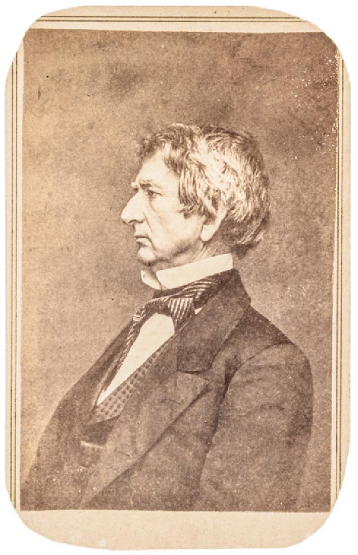 c. 1862 Brady CDV Photograph of William H. Seward