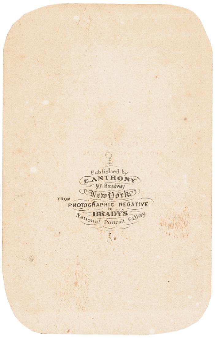 c. 1862 Brady CDV Photograph of William H. Seward - 2