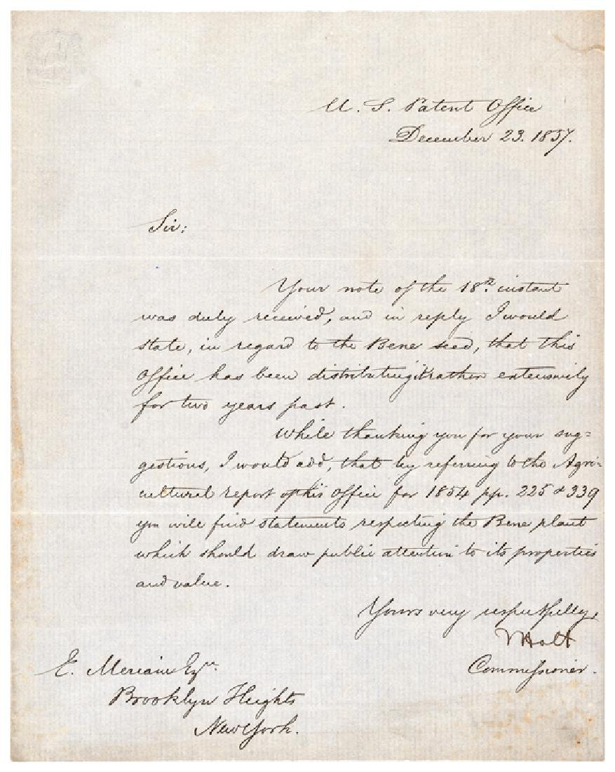 JOSEPH HOLT ALS First Army JAG + Lincoln Trial