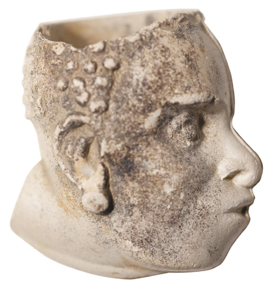 Black History African Slave Head Pipe Bowl - 2