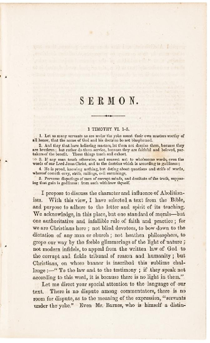 1860 Civil War Imprint, Review of... Abolitionism - 2