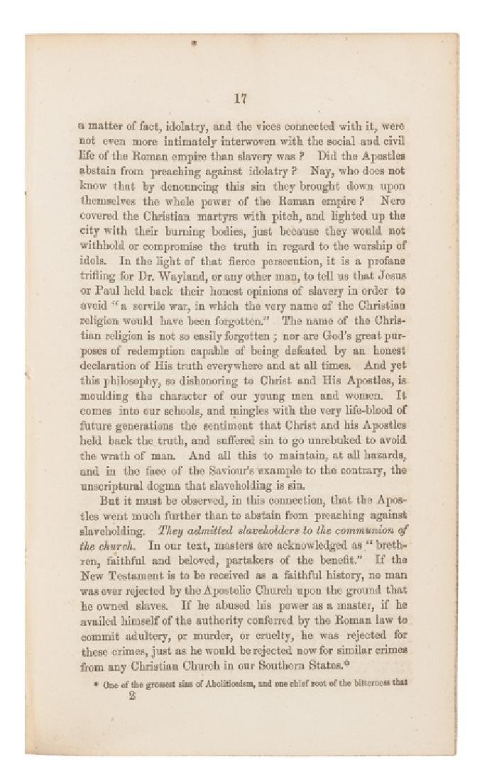 1860 Civil War Imprint, Review of... Abolitionism - 4