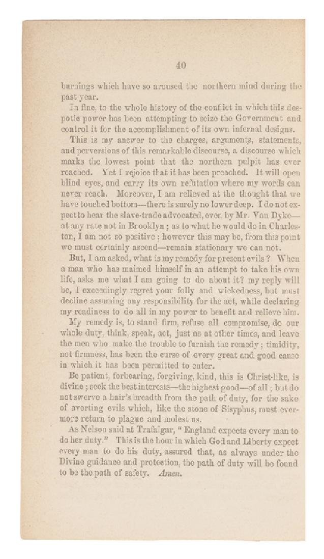 1860 Civil War Imprint, Review of... Abolitionism - 4