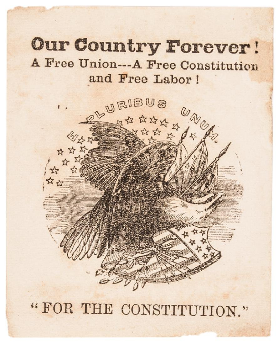 1864 MD Slavery Constitutional Convention Tickets - 3