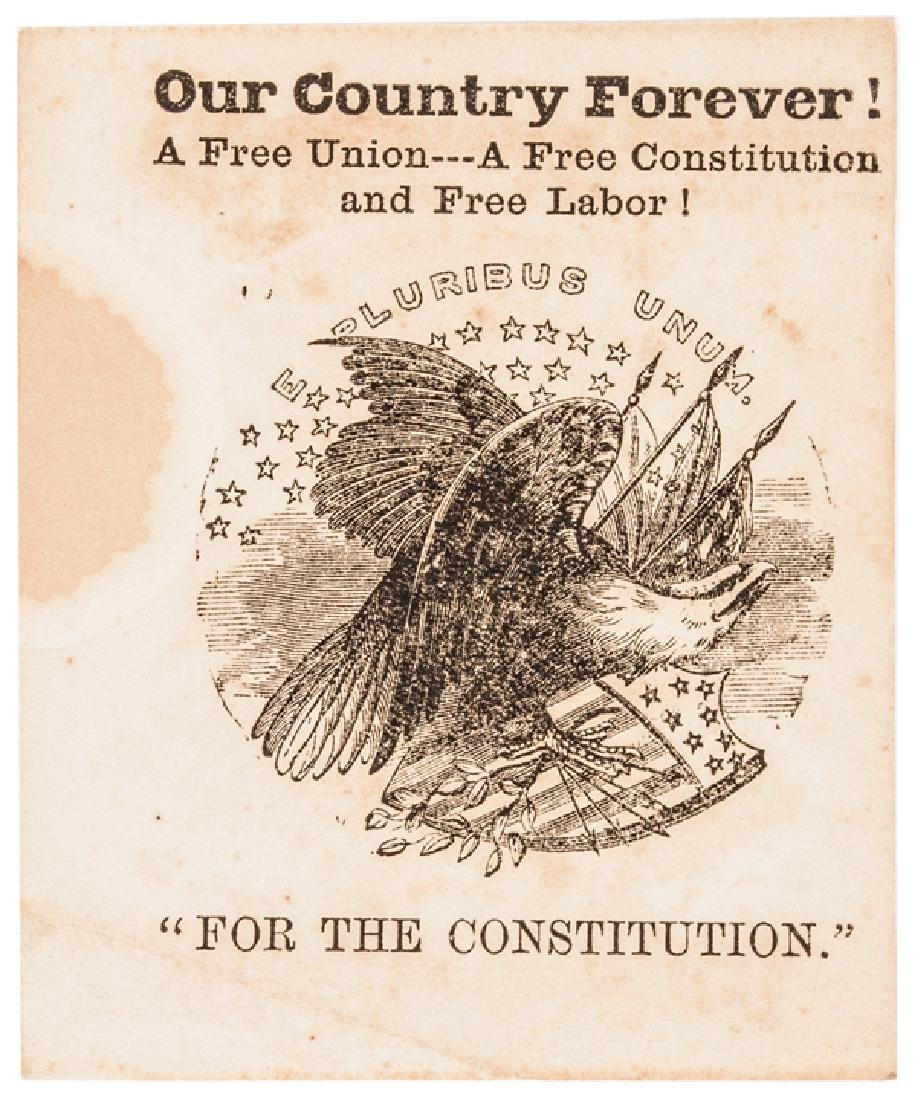 1864 MD Slavery Constitutional Convention Tickets - 6