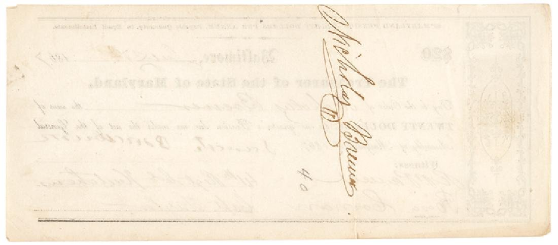 1867 Pension for Service in the MD Colored Troops - 2