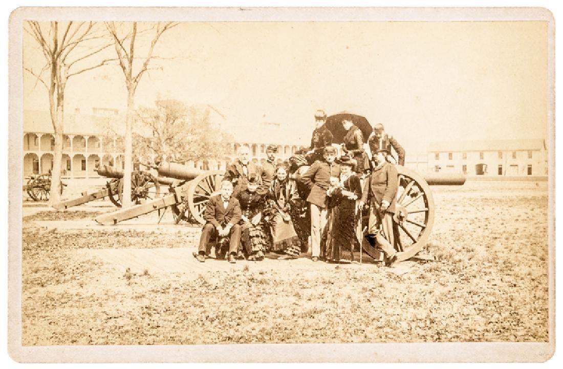 Civil War Generals McClellan + Getty Cabinet Card