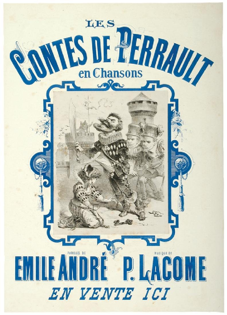 c. 1887 Two Wonderful French Theatrical Posters