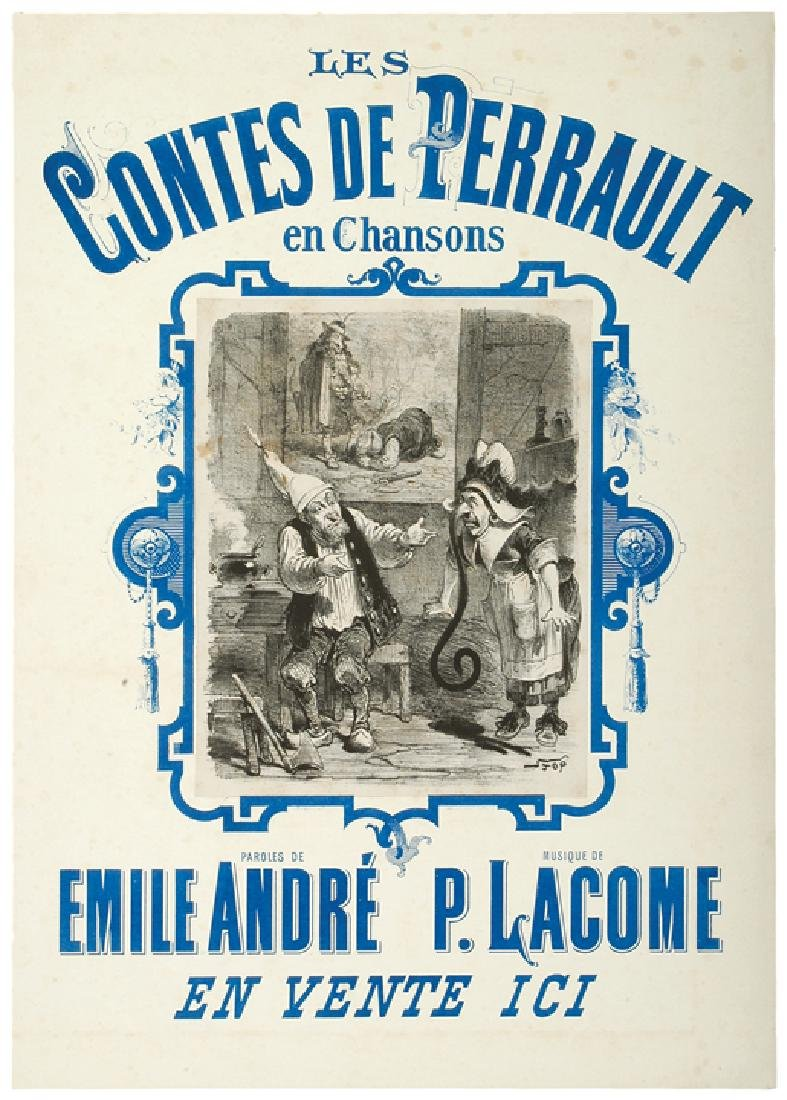 c. 1887 Two Wonderful French Theatrical Posters - 2