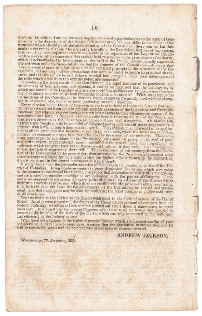 Andrew Jackson's 1835 State of the Union Address - 2