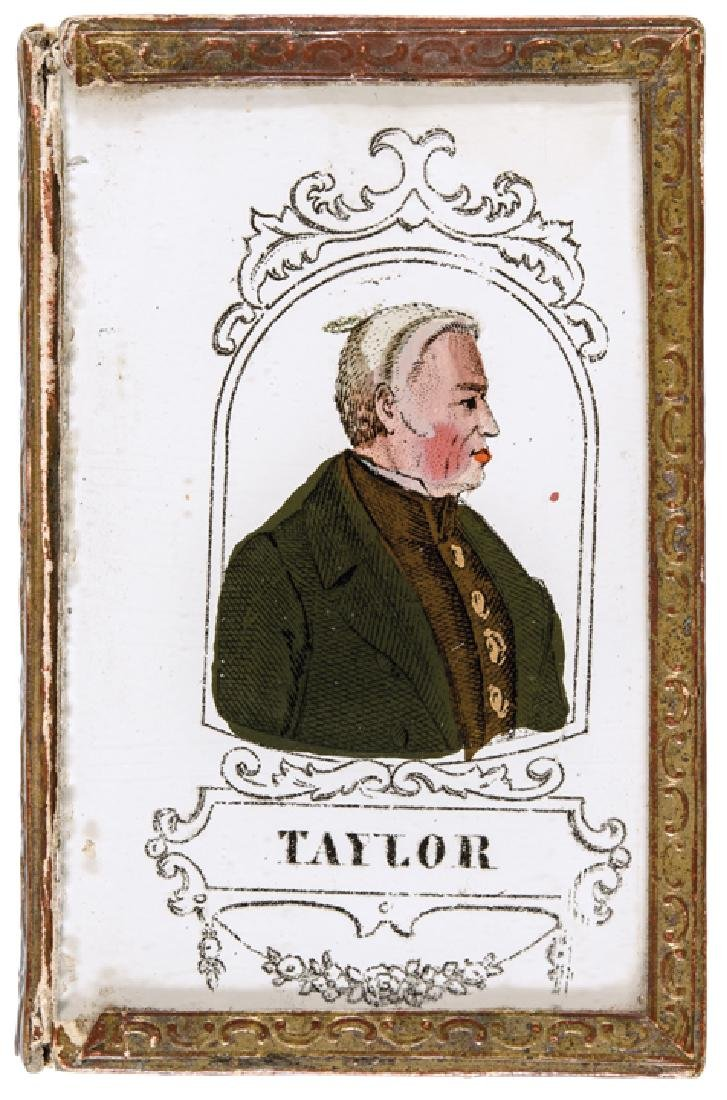 1848 Zachary Taylor Presidential Campaign Box