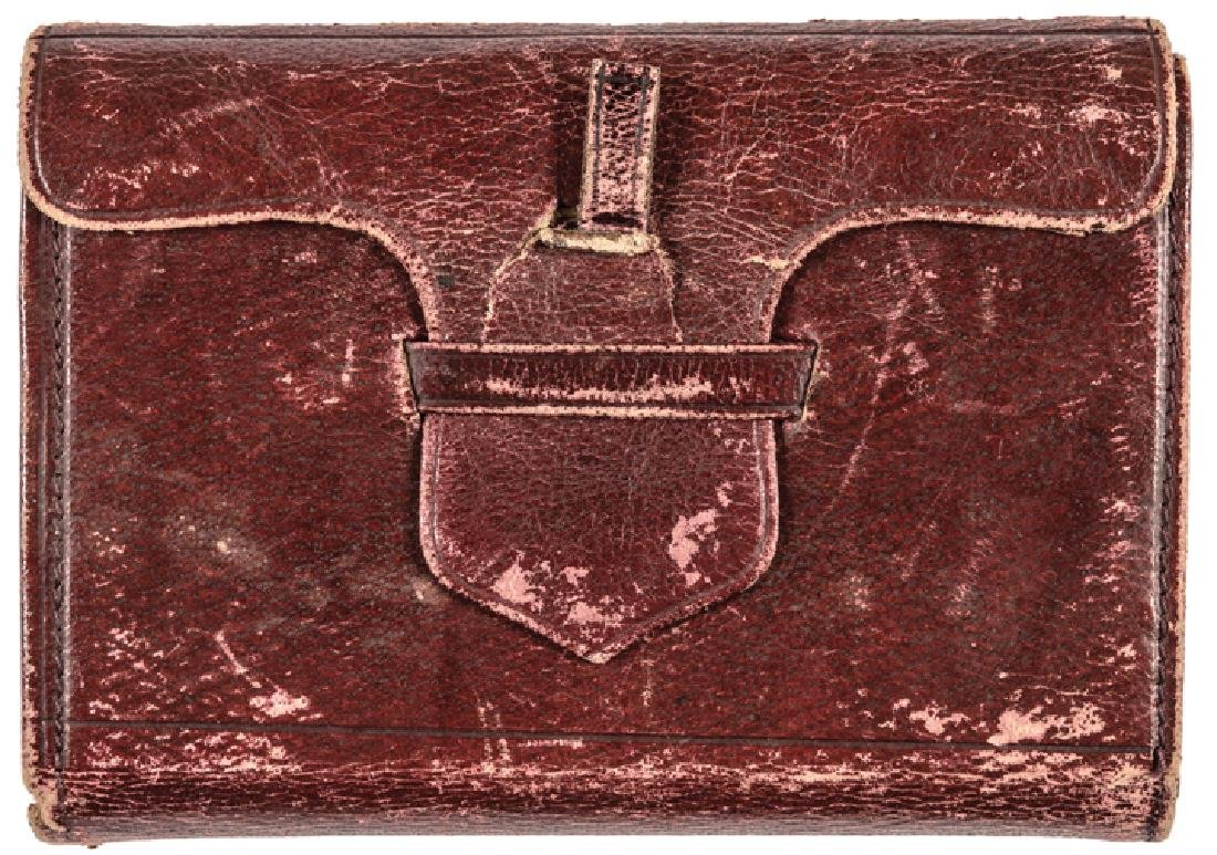 National Presidential Photos in a Folding Wallet