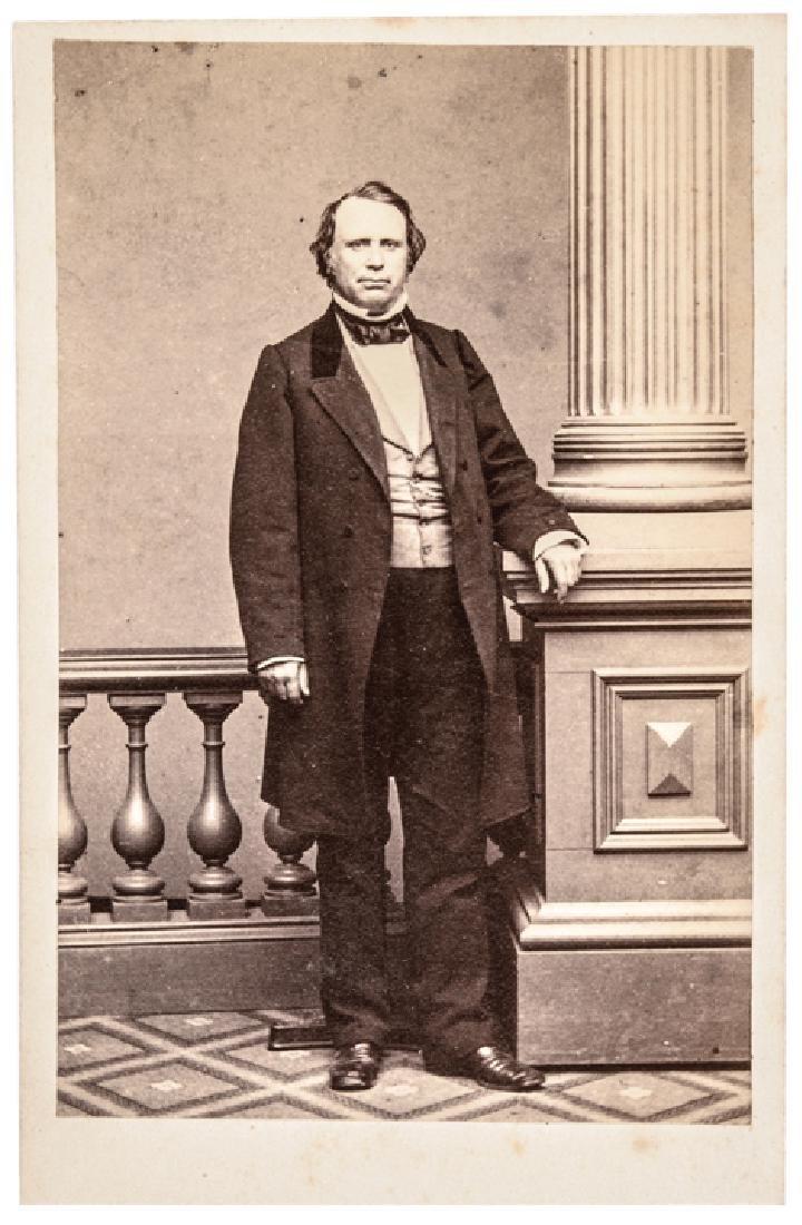 Henry Wilson Vice President Carte de Visite