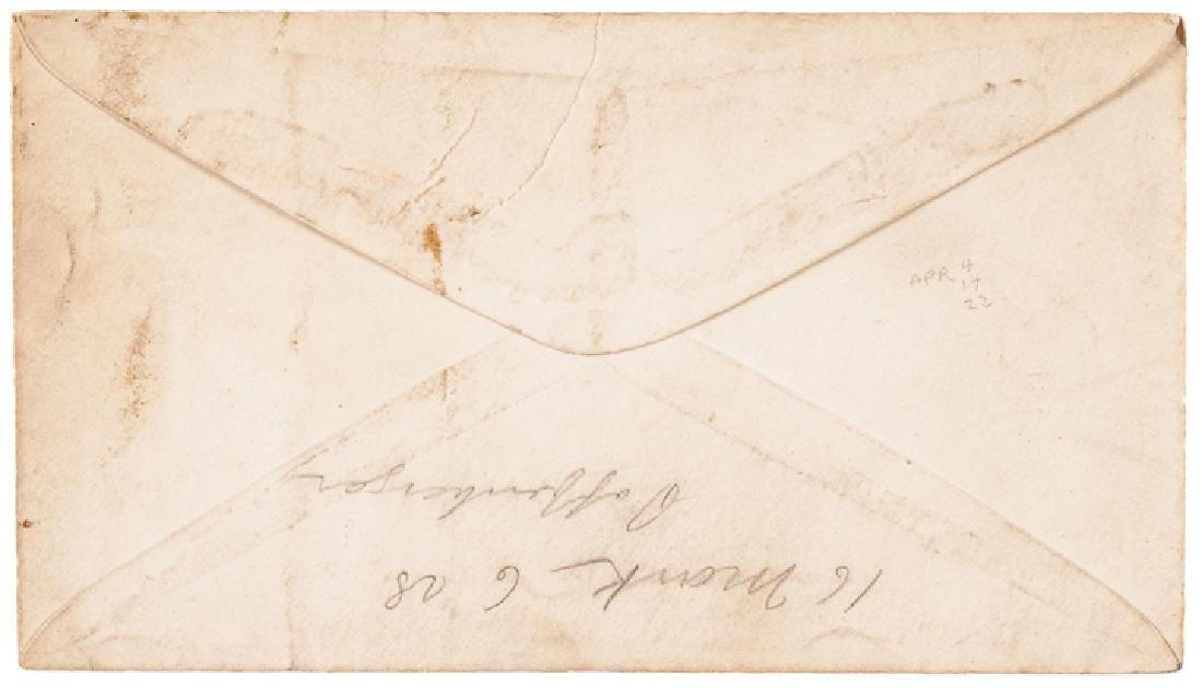 1868 President Andrew Johnson Impeachment 6 Items - 4