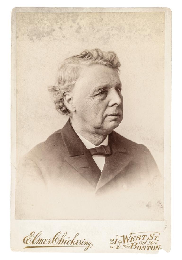 c. 1880 William Gaston Photograph Cabinet Card