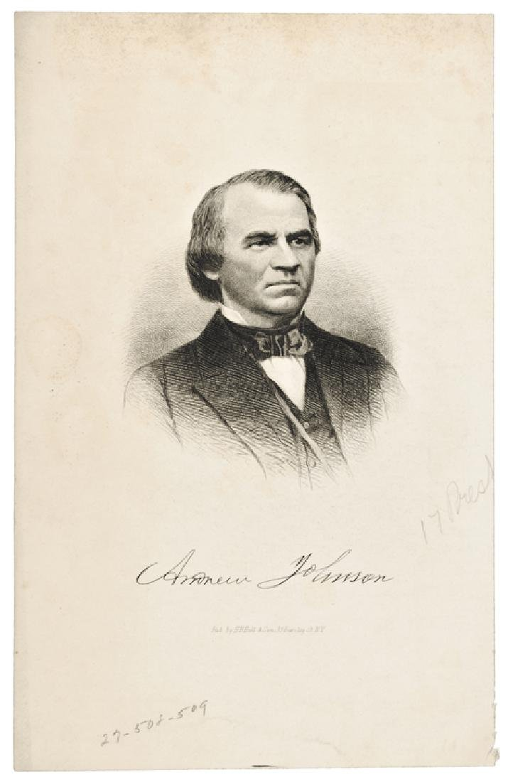 Five (5) Engraved Presidential Prints by Page - 2