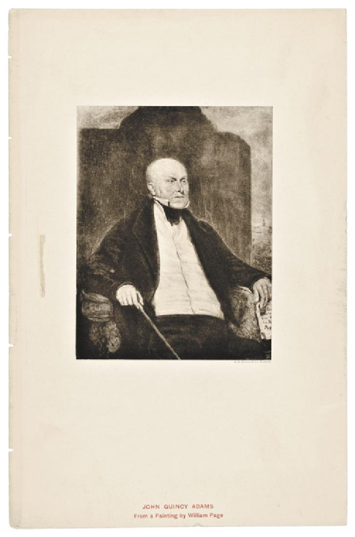 Five (5) Engraved Presidential Prints by Page - 3