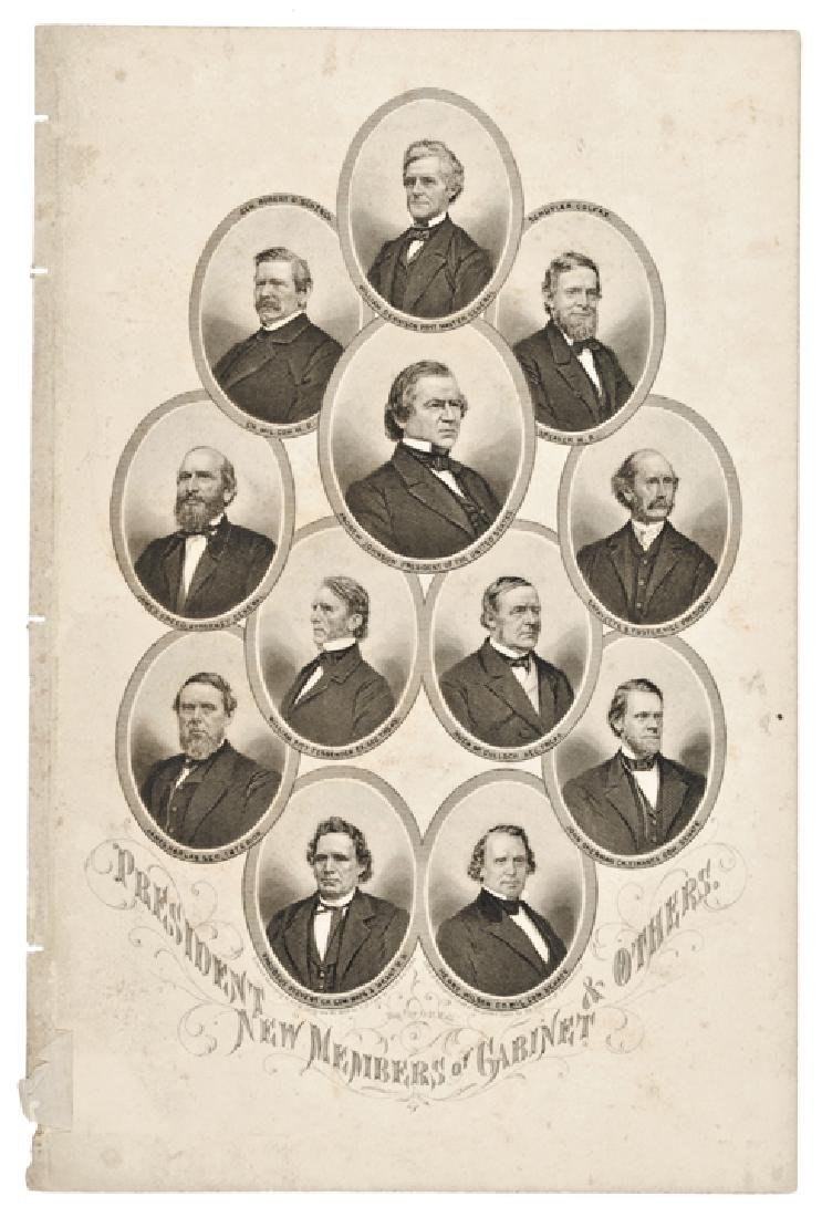 Five (5) Engraved Presidential Prints by Page - 4