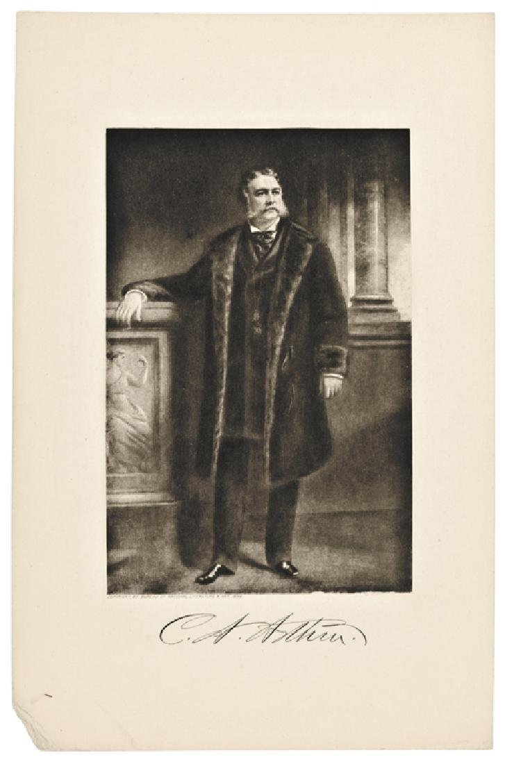 Five (5) Engraved Presidential Prints by Page - 5