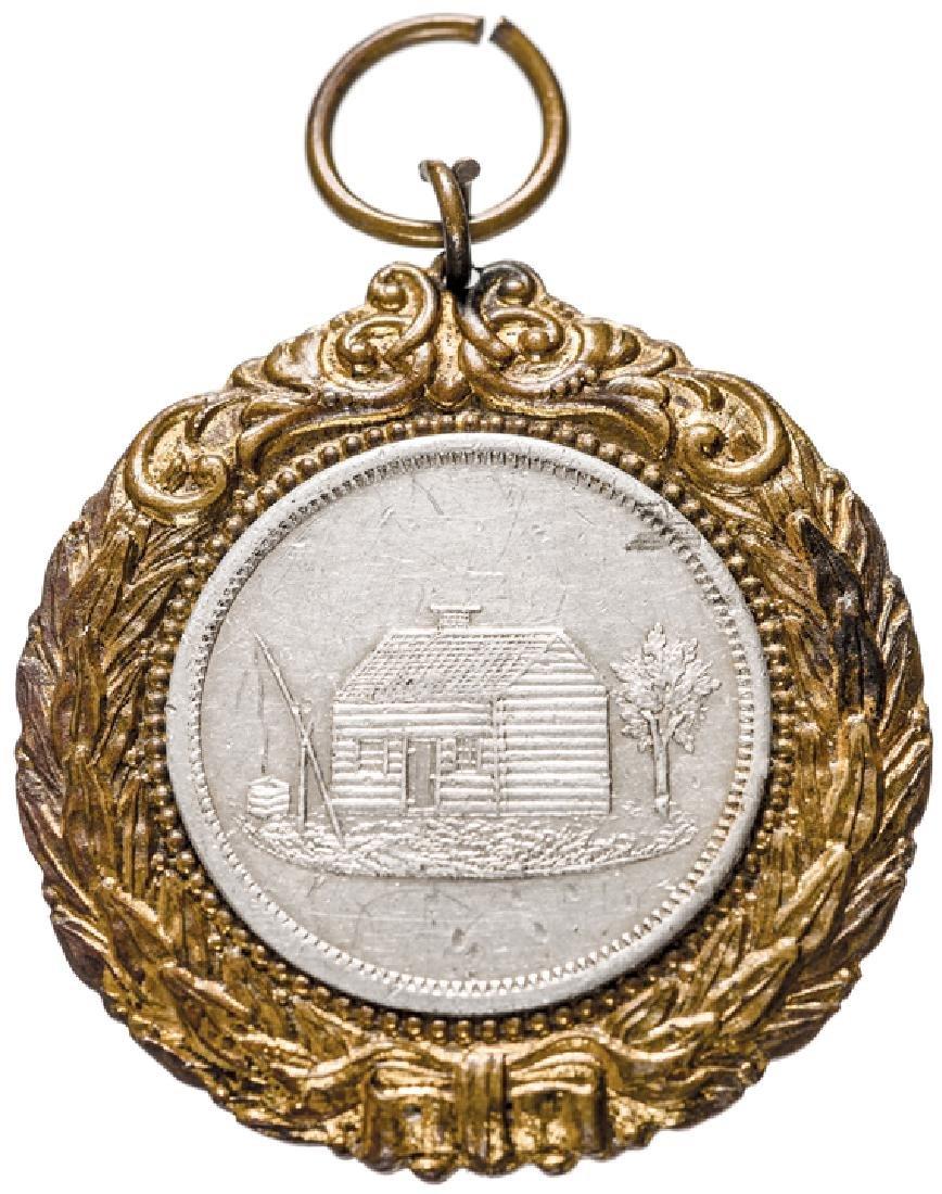 1888 Benjamin Harrison Presidential Campaign Medal