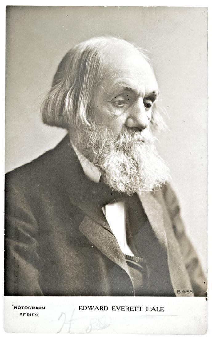 Edward Everett Hale, Real-Photograph Postcard