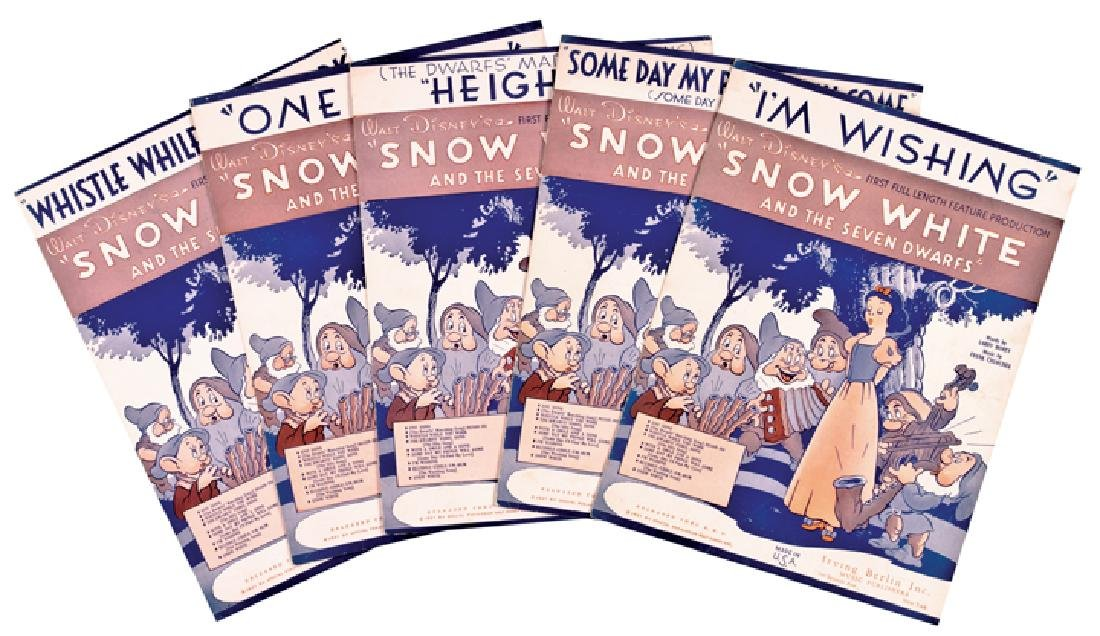 1937 Disney Snow White + The 7 Dwarfs Sheet Music - 8