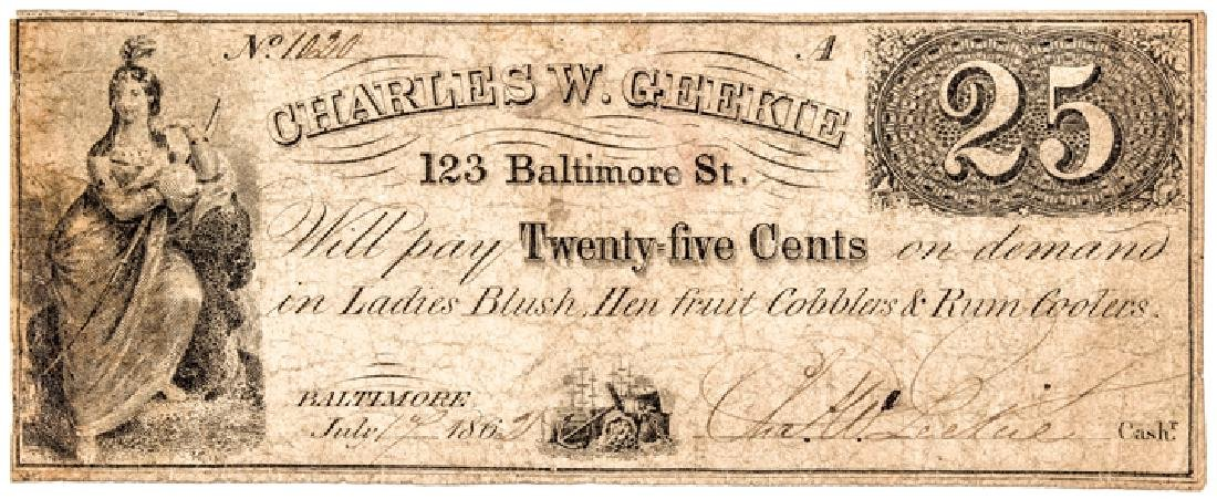 Charles Geekie Ladies Blush Trade Tokens Archive!