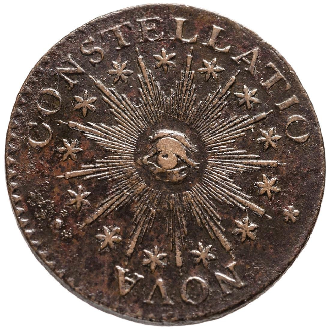 1783 Nova Constellatio Ptd Rays Sm US Crosby 2-B
