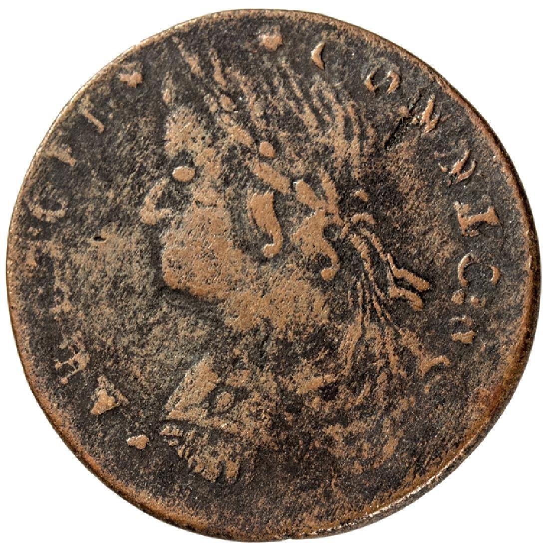 1787 Connecticut Copper Miller 37.4-k.1 Very Fine