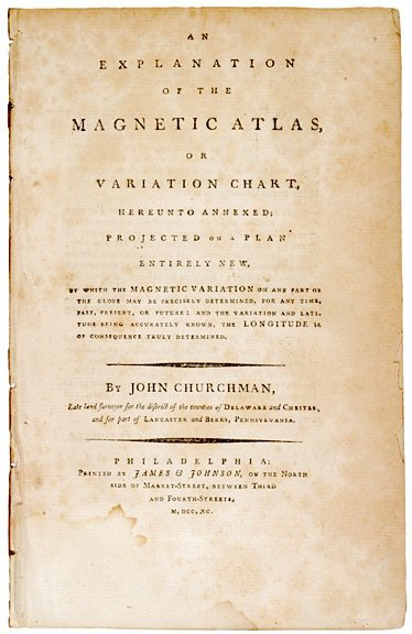 4008: Booklet EXPLANATION OF THE MAGNETIC ATLAS, 1790