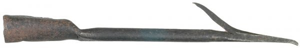 4010: Late 18th Century American Barbed Whaling Harpoon