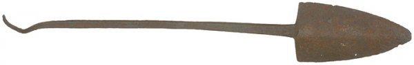 4013: Early Spade-shaped Whaling Harpoon Head, c. 1800
