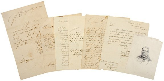 4015: Archive of Six Historic War of 1812 Letters