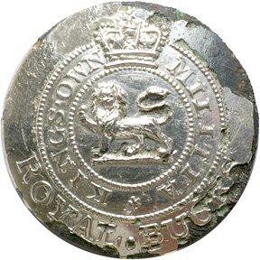 4020: War of 1812 British Militia Officers Button