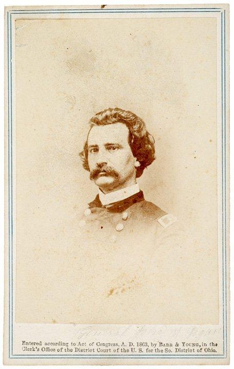 4099: Civil War CDV of BLACK JACK John Logan