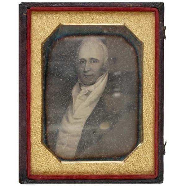 5009: (WILLAM CLARK), c. 1850, Daguerrotype Portrait