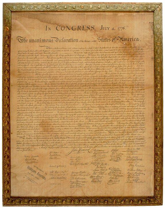 5012: (DECLARATION OF INDEPENDENCE), 1895, Souvenir