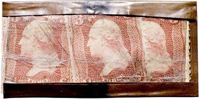 5273: Encased Postage Stamps, 9¢, Feuchtwanger Strip