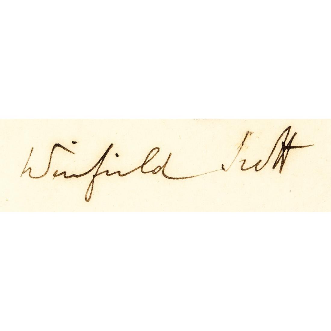 1846 General WINFIELD SCOTT Document Signed - 3