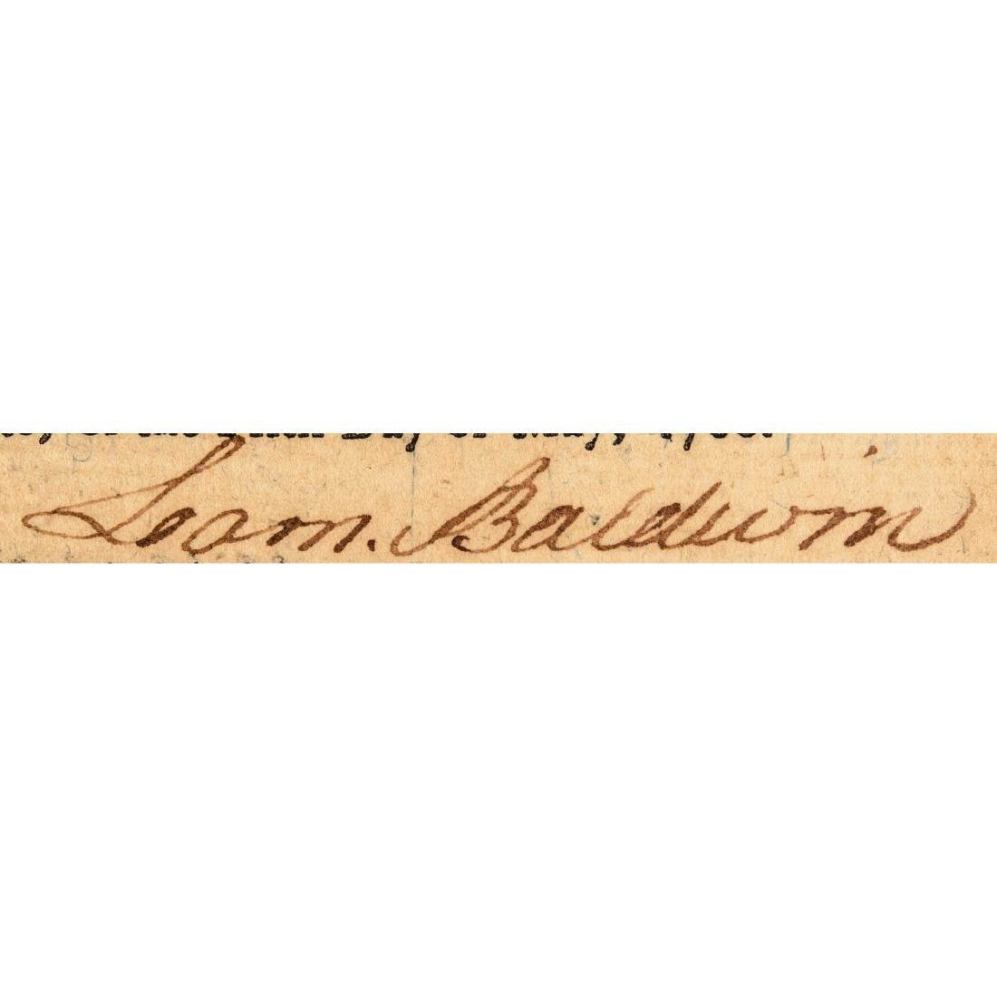 Colonial Currency COLONEL LOAMMI BALDWIN Signed - 7