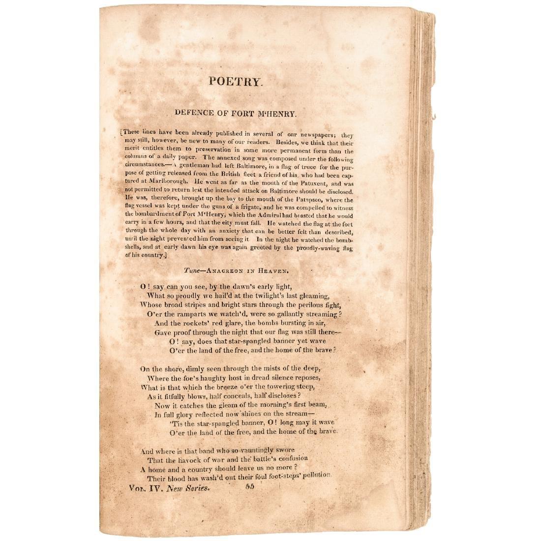 1814 The Star Spangled Banner, Francis Scott Key! - 3