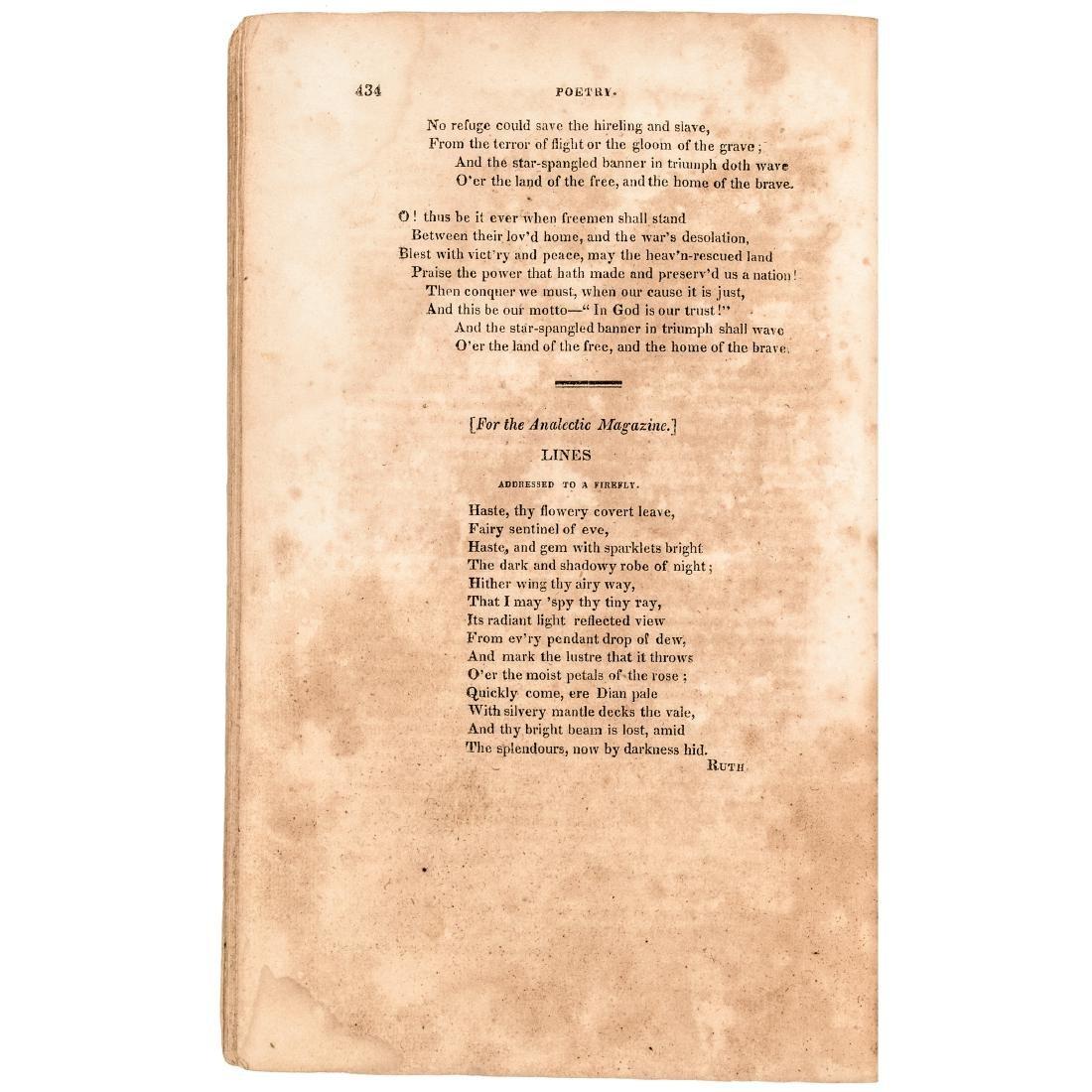 1814 The Star Spangled Banner, Francis Scott Key! - 4
